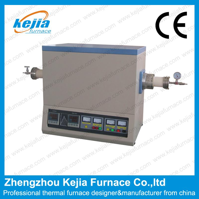 1400℃ Two-Zone high temperature Tube Furnace