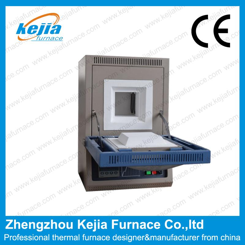 1700℃  Drop Down Door muffle furnace