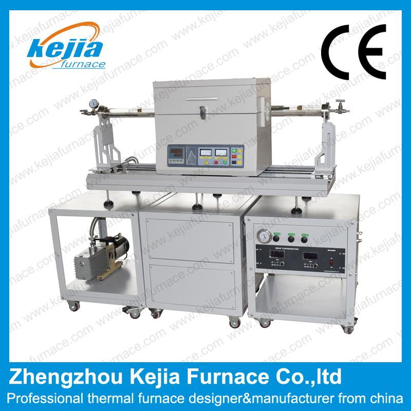CVD grown graphene furnace