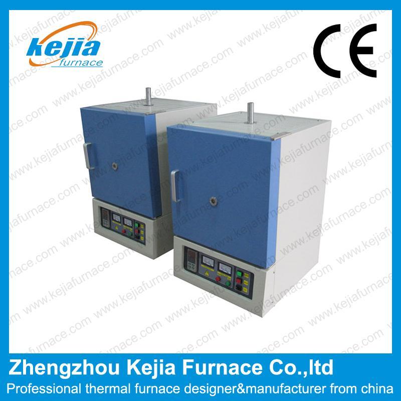1200℃ muffle furnace with window