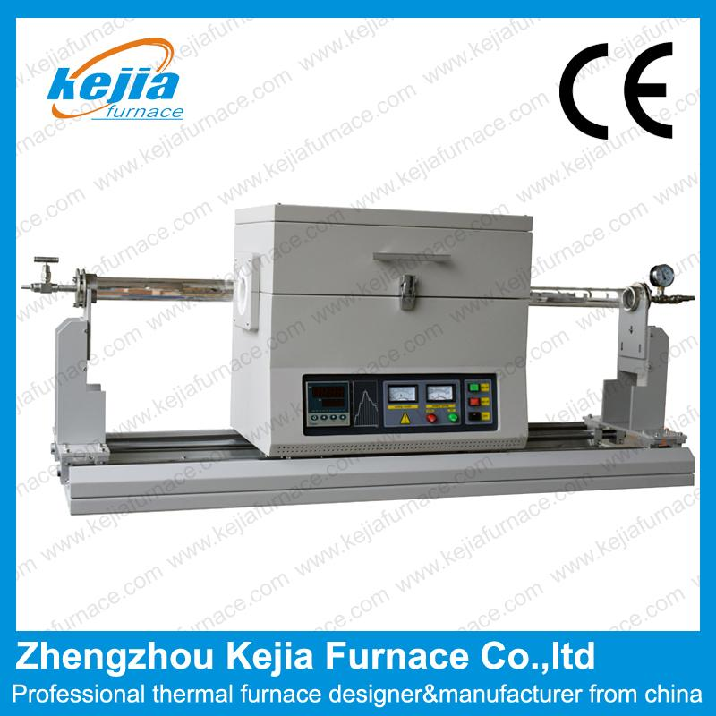 1200℃ Sliding Rail Tube Furnace