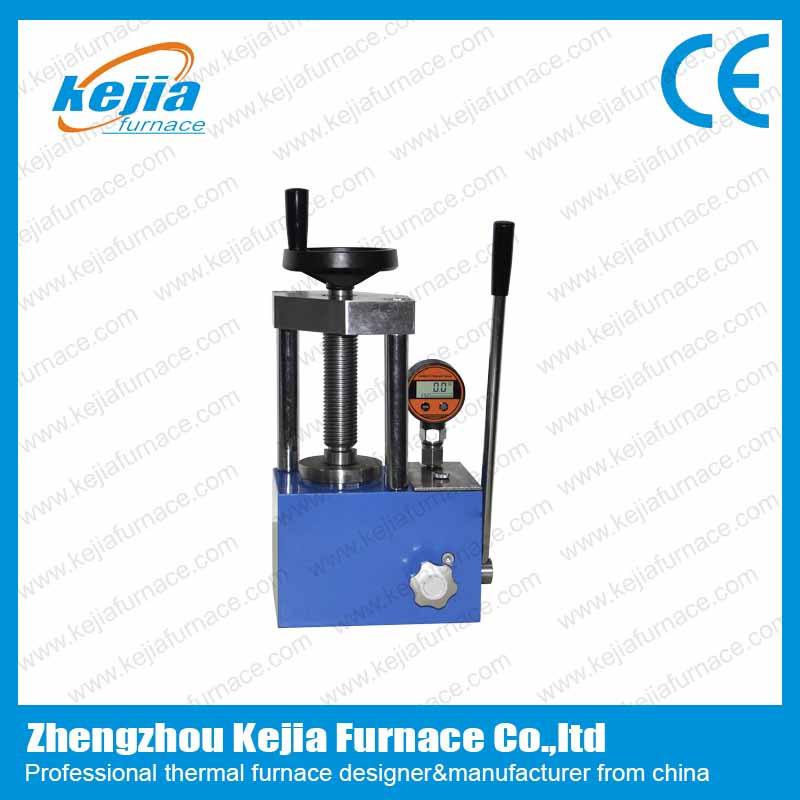 Kejia 12T Digital Manual Powder Press Machine with 2 columns