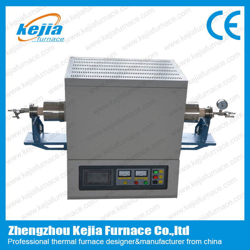 1600℃ Touch Screen Vacuum Tube Furnace