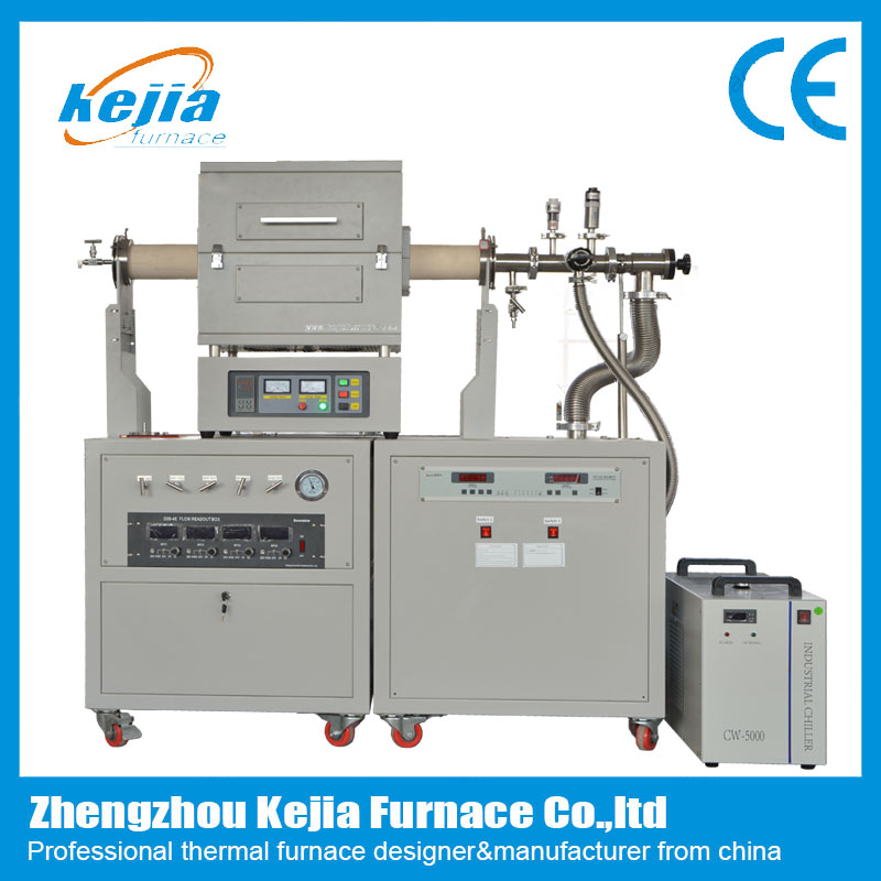 1400℃ high vacuum cvd tube furnace