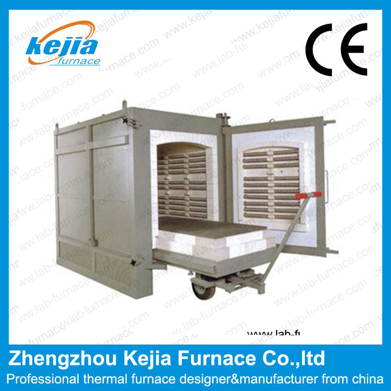 1700°High temperature Trolley  electric furnace