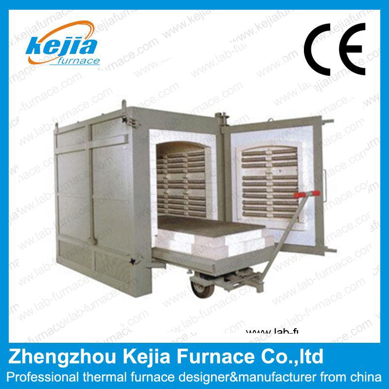 1700°High temperature Trolley  electric furnace