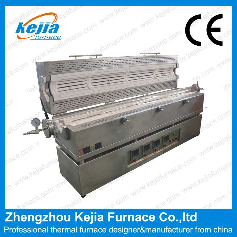 1200 degree four zone Tube Furnace