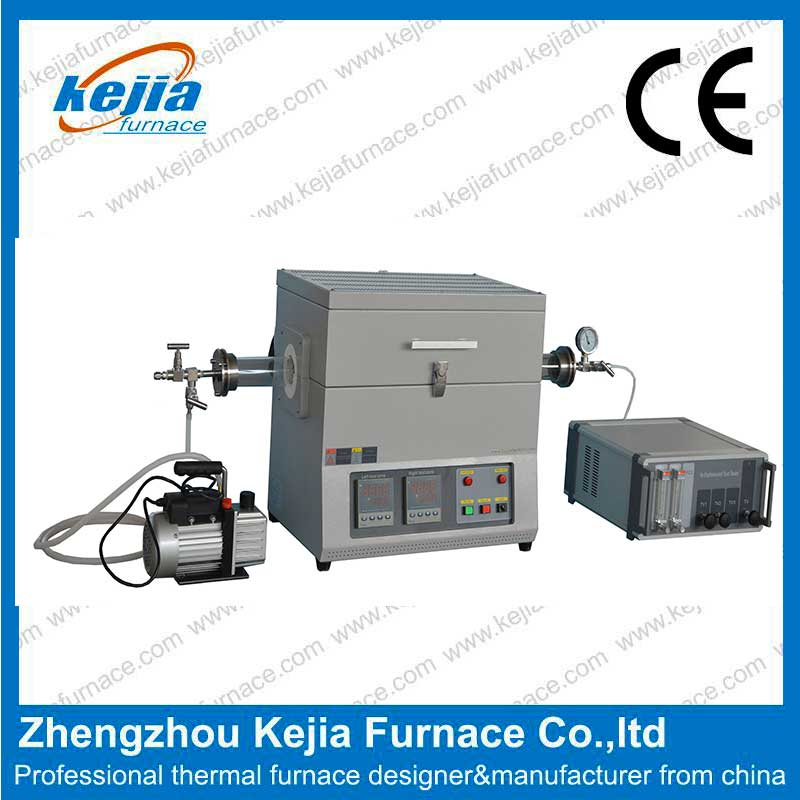 1600℃ High pressure vacuum Tube furnace