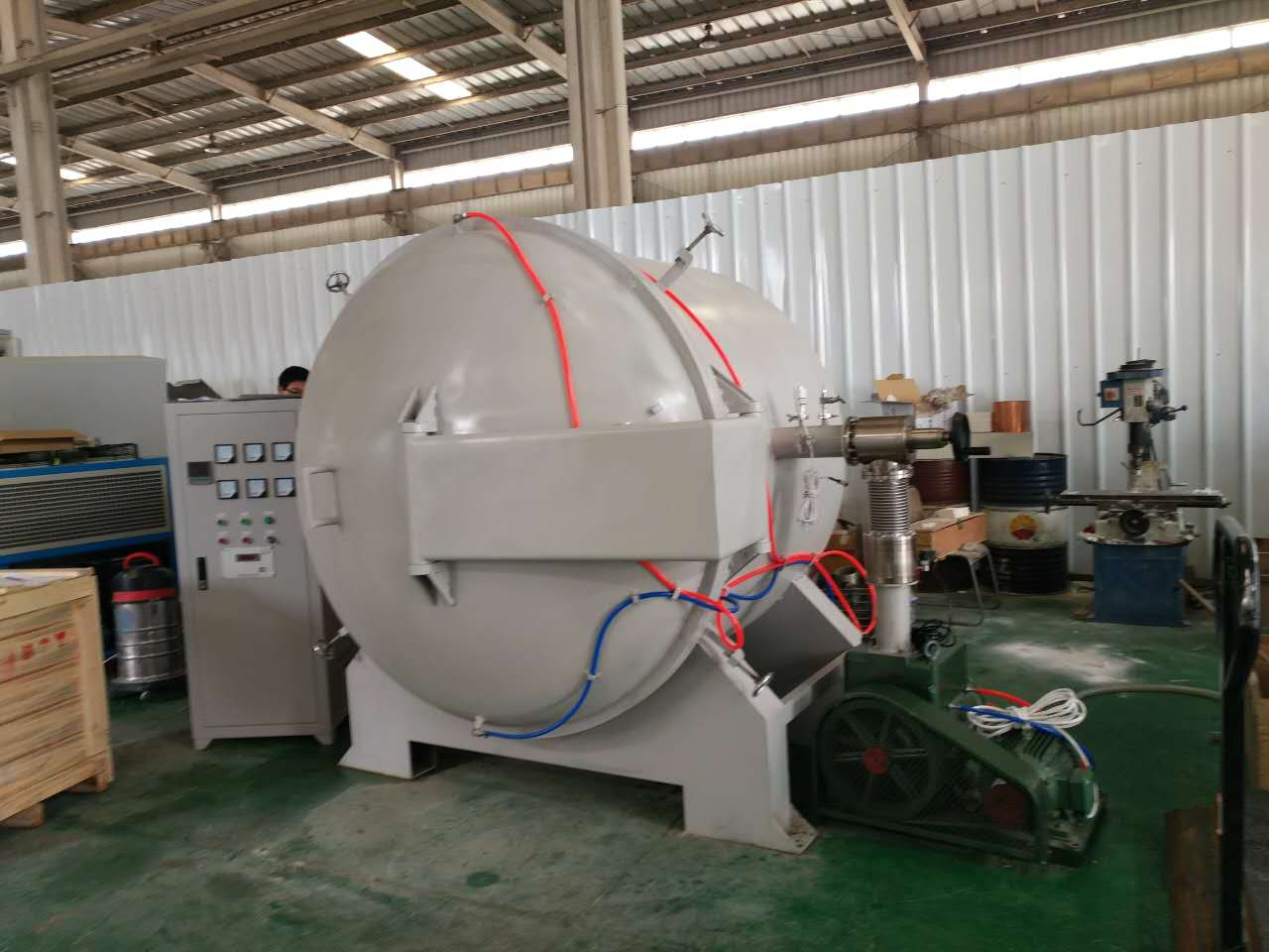 vacuum heat treatment sintering furnace